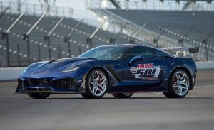 El Chevrolet Corvette ZR1 será el Pace Car más potente de la Indy 500