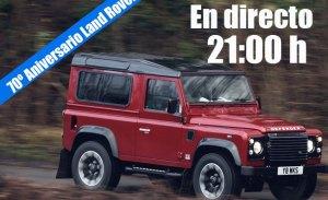 Sigue en directo el 70 aniversario del primer Land Rover