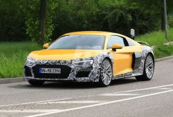 Audi R8: nuevas imágenes de la futura actualización