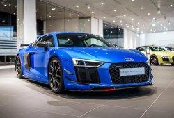 El Audi R8 V10 Plus se muestra en vivo con las Performance Parts