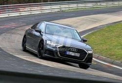 El nuevo Audi S8 ha aparecido totalmente desnudo en Nürburgring