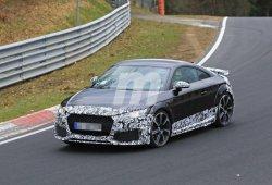 La actualización del Audi TT RS ya rueda en Nürburgring