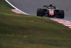 """Haas completa otro sábado """"positivo"""" en Shanghái con los puntos como meta"""
