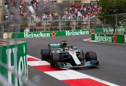 """Hamilton: """"Tenía una ventaja de 3 décimas, pero acabé 2 décimas por debajo"""""""