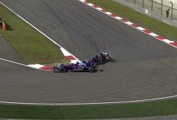 El incidente que cambió el destino del GP de China, fruto de un malentendido