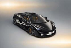McLaren 570S Spider Design Edition: cinco posibilidades en una nueva serie especial más deportiva o lujosa