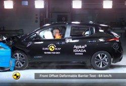 El nuevo Nissan Leaf 2018 obtiene 5 estrellas en las pruebas Euro NCAP