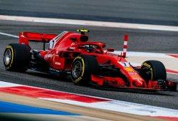 Räikkönen, mejor tiempo y susto con un neumático