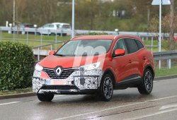 El esperado Renault Kadjar 2019 comienza a perder camuflaje