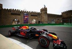 Ricciardo se lleva los segundos libres de Bakú