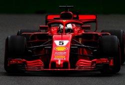 Vettel, al frente en los terceros libres de Bakú