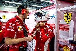 """Vettel confía en las tandas largas del Ferrari: """"Estoy bastante contento"""""""