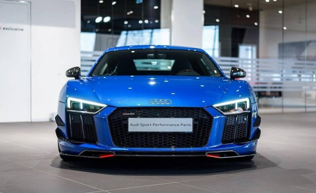 Audi R8 V10 Plus Performance Parts - frontal