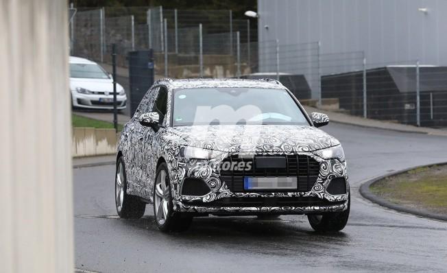 Audi RS Q3 2019 - foto espía frontal