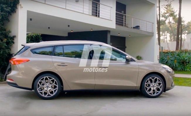 Ford Focus SportBreak 2018 - lateral