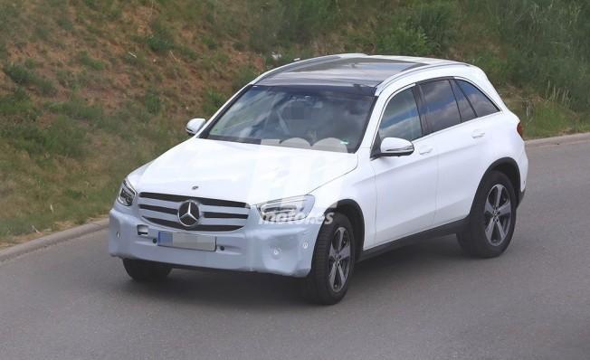 Mercedes Ya Trabaja En El Lavado De Cara Del Clase Glc Llegara En