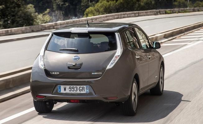 Nissan Leaf 30 kWh - posterior