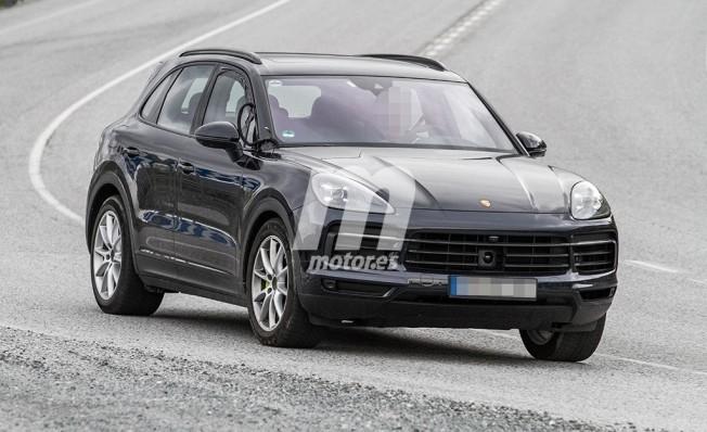 Porsche Cayenne E-Hybrid 2018 - foto espía