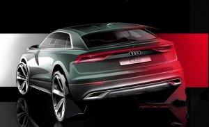 Audi adelanta el diseño de la zaga del nuevo Q8, el esperado SUV de lujo