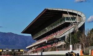 Alineación de pilotos para los test de F1 en Barcelona