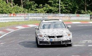 El nuevo BMW M3 G80 exprimido a fondo en Nürburgring