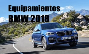 BMW introduce novedades en los Serie 1, Serie 5, Serie 6 GT, Serie 7, X3, X4 e i8 Roadster