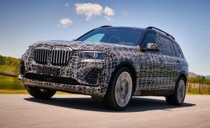 BMW adelanta las primeras imágenes del X7 de pre-producción