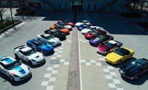 La colección única de Corvette Indy 500 Pace Cars vendida por 1.76 millones