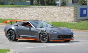 Cazado un Chevrolet Corvette Z06 con nueva configuración para circuito