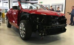 El Skoda Karoq Cabrio se materializa en un prototipo a escala real