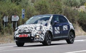 El esperado Fiat 500X 2019 comienza a perder camuflaje
