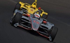 Marco Andretti lidera, pero Penske amenaza la pole; cuarto Servià