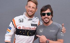 """Button descarta la Triple Corona: """"Dejaré que Alonso se encargue de eso"""""""