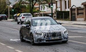El esperado Mercedes-AMG A 50 se pone a punto en España