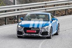 El nuevo Audi TT RS facelift ya muestra pequeñas novedades estéticas