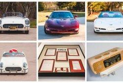 A subasta la colección más extraña de Corvettes y un ladrillo
