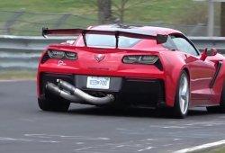 El Corvette ZR1 vuelve a por el crono en Nürburgring
