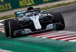 Bottas se luce en el segundo día de test en Barcelona