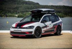 Golf Variant TGI GMOTION, el familiar compacto de Volkswagen más ecológico debutará en Wörthersee
