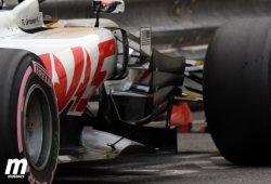 Haas, obligado a prescindir de algunas piezas aerodinámicas que se rompen