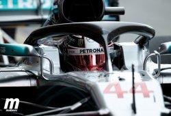 Hamilton gana en Montmeló sin rival