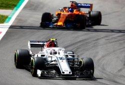"""Leclerc: """"Aprendo el doble luchando con Alonso que con otros pilotos"""""""