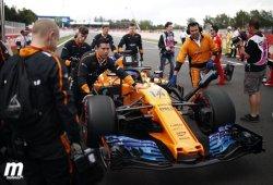 McLaren trabaja en un paquete aerodinámico que mejore la velocidad punta