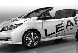 Nissan presenta una versión descapotable conceptual del Leaf