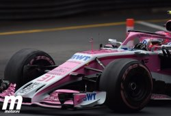 Ocon, la cara de Force India; Pérez, la cruz