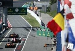 Así queda la parrilla del GP de España