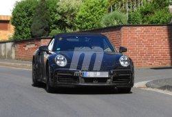 La nueva generación del Porsche 911 Turbo Cabrio comienza sus pruebas