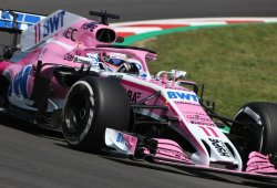 Trabajo, progreso y multa para Force India en Barcelona
