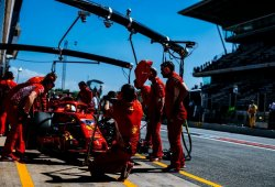 Vettel justifica la segunda parada en boxes que le hizo perder el podio