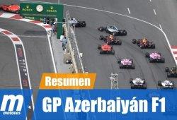 [Vídeo] Resumen del GP de Azerbaiyán F1 2018